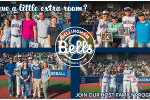 Bellingham Bells Seeking Host Families for Summer 2021