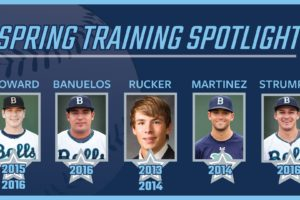 Five Former Bells to Participate in 2021 MLB Spring Training
