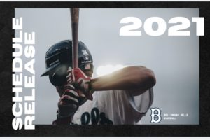 The 2021 WCL Schedule has been Released