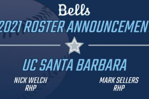Bells Add to Pitching Rotation with Two Pitchers from UCSB