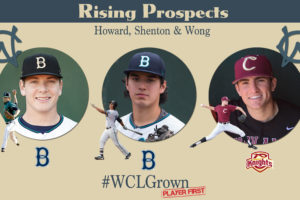Player Development is the Best in the West Coast League: It Came First with Spencer Howard, Austin Shenton and Jacob Wong