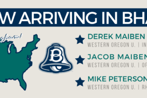 Three Players to Join the Bells from Western Oregon