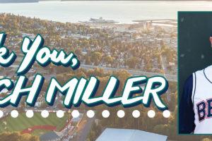 Thank You, Coach Miller!