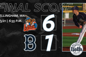Bells Drop Game Two of Series – Rubber Match Tomorrow at 1:05