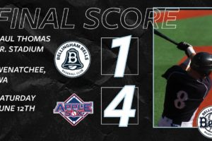 Bells score first but are unable to maintain lead in Wenatchee
