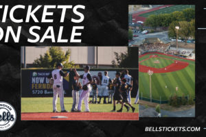 Bells to Release Single Game Tickets for July/August Games on Monday, June 21st