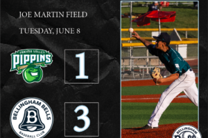 Chavarria Shines as Bells Best Pippins in Series Opener