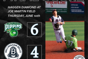 Pippins Take Series with Game Three Win