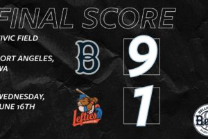 Bells Capture Their First Series Victory in Port Angeles