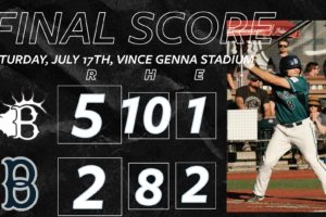 Bells Produce More Hits but Come Up Short Against Elks
