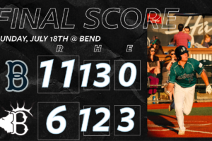 Bells Take Series Finale From Bend