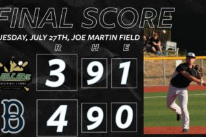 Pinch-Hitting Pitcher Gives Bells Walkoff Win