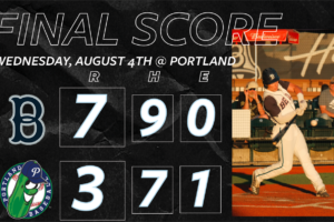 Bells Clinch Series Against Pickles, Win Third Straight
