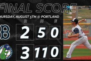 Bells Fall in Late Night Walkoff